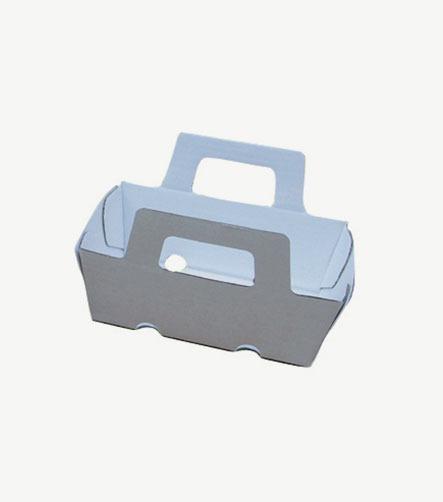 Barquette carton avec anses