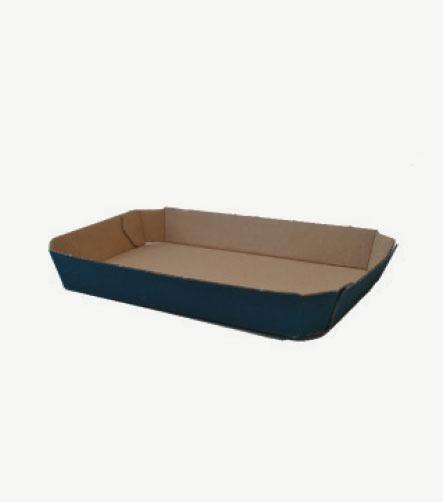 Barquette carton noire