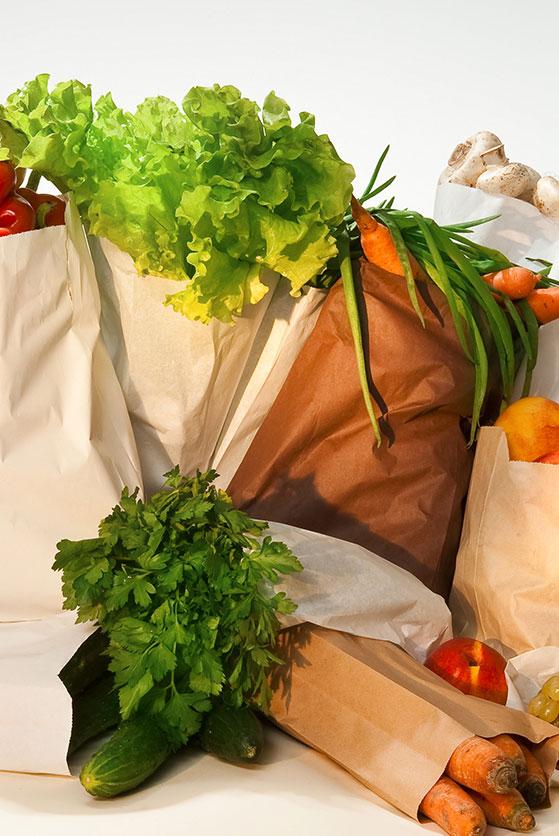 Sac fruits et légumes