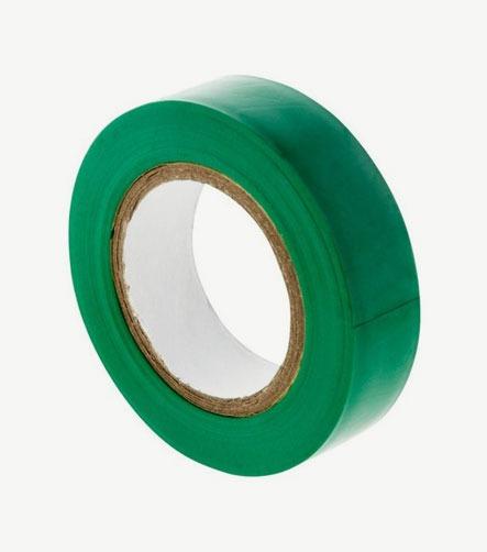Adhesif PVC vert