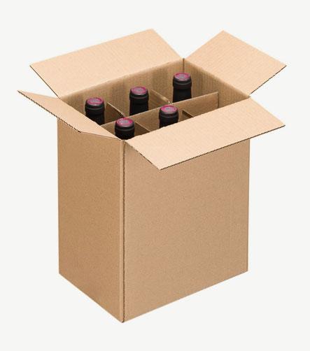 Carton 6 bouteilles