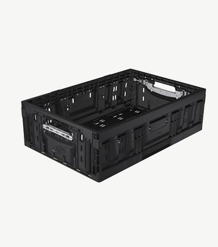Bac plastique alimentaire noir