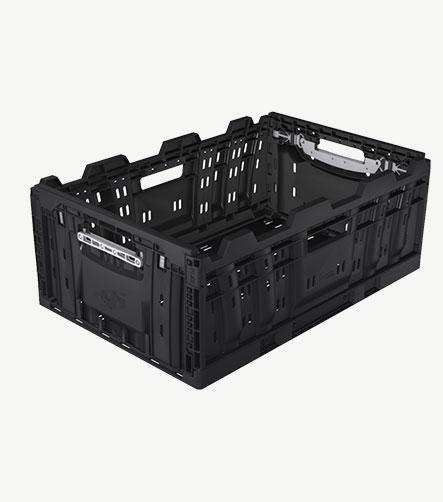 Bac plastique alimentaire RPC noir 623