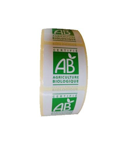 Etiquette logo AB