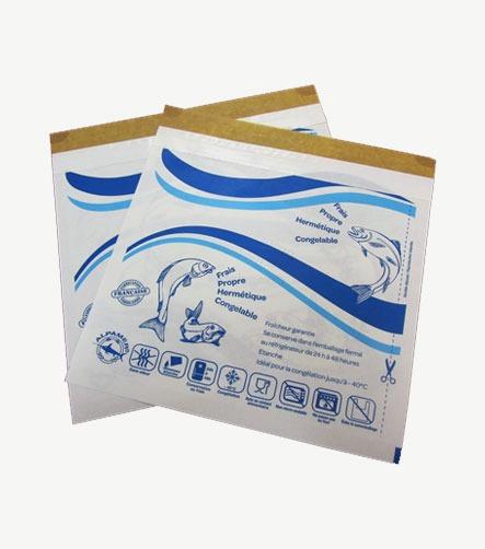 pochette poisson adhesive