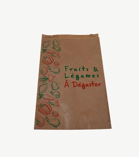 sac papier imprimé