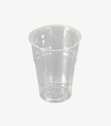 Gobelet cup transparent PS 250KM