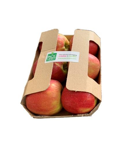 Barquettes pommes avec rabats
