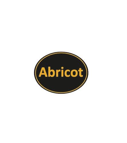 Etiquette Stick abricot