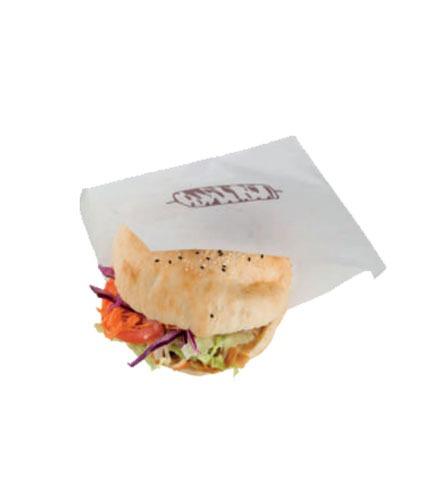 feuille papier sandwich